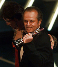 Jack Nicholson wins an Oscar for As Good As It Gets (1997), along with Helen Hunt